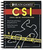 Brain Games® Crime Scene Investigation (CSI) Puzzles