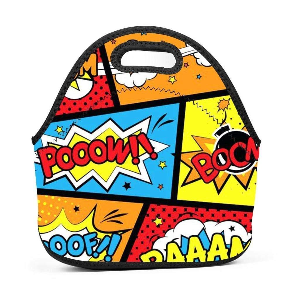 Dozili Comic Graffiti Boom - Bolsas de neopreno para el ...