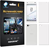 Membrane screen protectors for Sony Xperia Z5 Compact - (3 x Front and 3 x Back) - Full body protection, Installation Kit