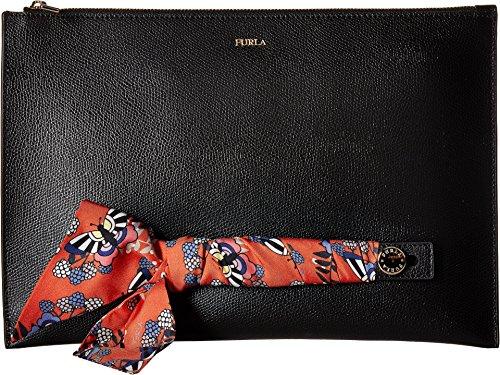 Furla Women's Babylon XL Envelope, Onyx/Toni Mango, One Size by Furla