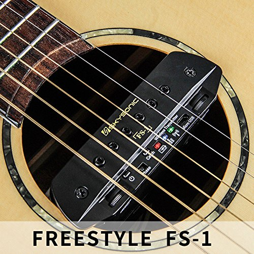 2018 NEW SKYSONIC FS-1 Wireless Dual Channel Guitar Pickup Guitar Accessories