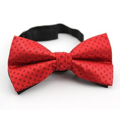 El Traje Trajes Vestido De Corbata/Moda Joker Bowtie-rojo: Amazon ...