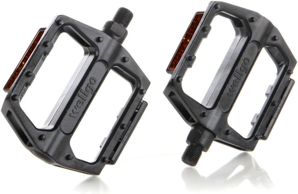 0451 Pair Pedals Wellgo Aluminum Quick Release X 27,5-29 MTB Mountain Bike B