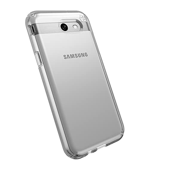 969073d84d Image Unavailable. Image not available for. Color: Speck Products Presidio  Clear Cell Phone Case for Samsung J3 ...