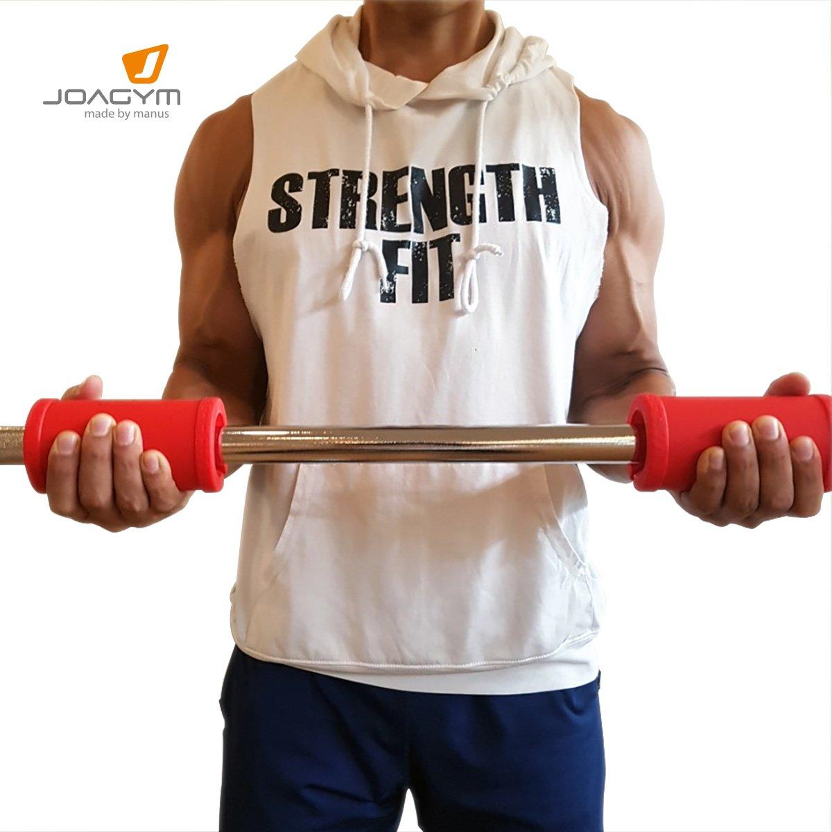 tr/íceps y pecho m/ás grandes Joagym Manus Grip b/íceps Grips gruesos mancuernas o manillar de bar para aumentar el crecimiento muscular Obt/én antebrazos mancuernas dar cualquier barra
