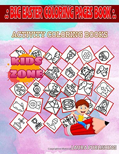 Amazon Com Big Easter Coloring Pages Book 30 Fun Crown Of Thorns Cross Painting Cross Badge Nun Crown Of Thorns Egg For Girls 4 7 Image Quizzes Words Activity And Coloring Book 9798634890777 Publishing