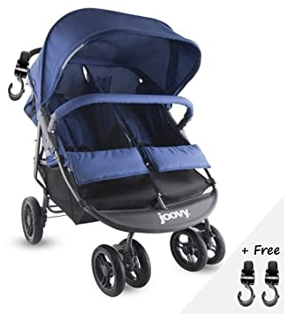 Amazon.com: PREMIUM doble Tandem cochecitos de bebé ...