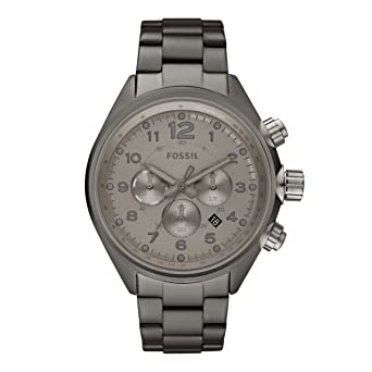 Fossil Mens Quartz Stainless Steel Casual Watch, Color:Grey (Model: CH2802)