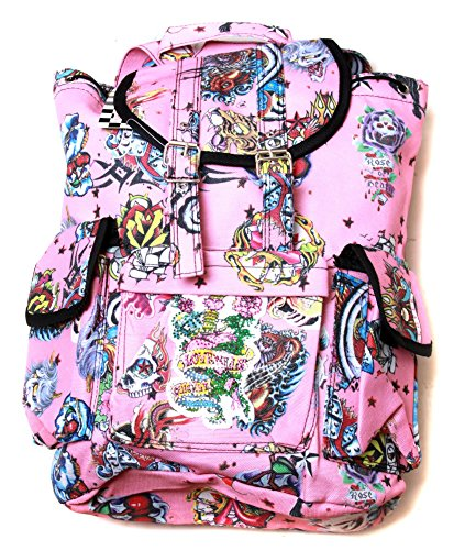 Hipster Rucksack Style Backpack Tattoo