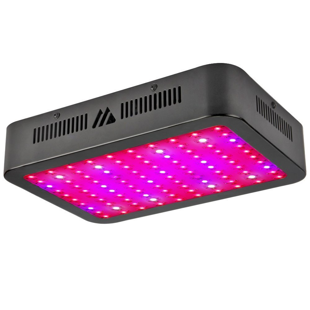 Dimgogo 1000W LED Grow Light, Dimgogo Triple Chips Full Spectrum Grow Lamp With UV&IR For Greenhouse Hydroponic Indoor Plants Veg And Flower All Phases Of Plant Growth (10W Leds) by Dimgogo