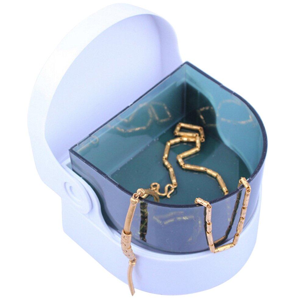 Amorar Smart Mini sans Fil Ultra Sonic Cleaner pour Le Nettoyage des Piè ces de Monnaie Bague Montre Bijoux Prothè ses dentaires Amorar-06
