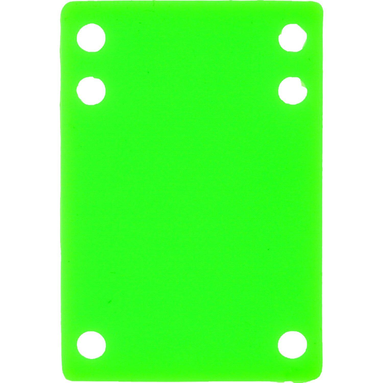 爆買い! 空白スケートボードグリーン単一( 1 ) Silconeライザーパッド – Not aセット: B01N9FBWIG 2必要なforボードアセンブリ ) – aセット: 1/ 8