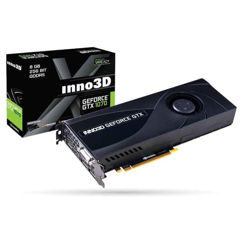 Inno3D N1070-2DDN-P5DN - Tarjeta gráfica (GeForce GTX 1070, 8 GB ...