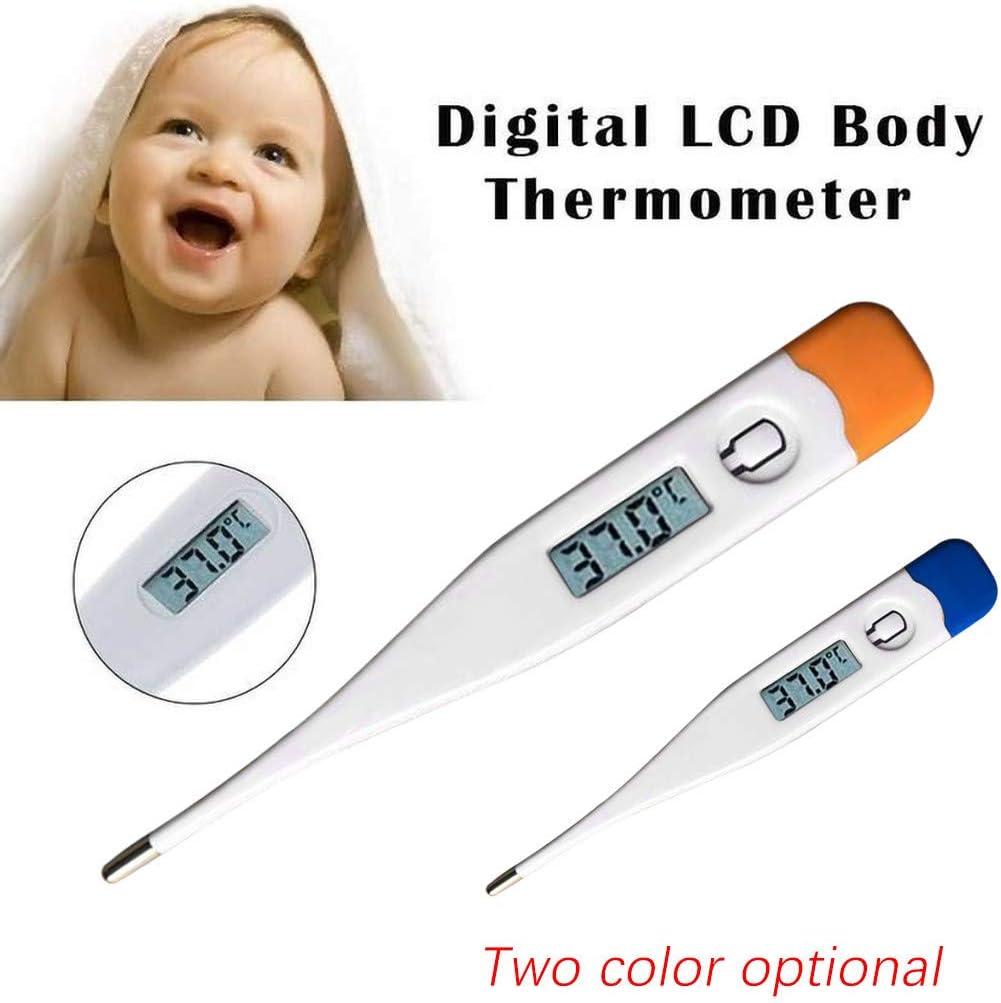 Fiebermessger/ät: Medizinisches Fieberthermometer vergoldet biegsame Spitze Digitales Fieberthermometer