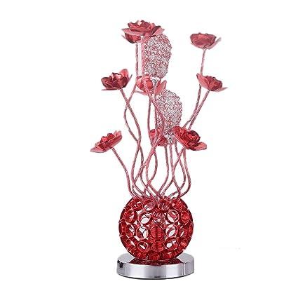 Amazon.com: Jarrón de flores modernas de aluminio, lámpara ...