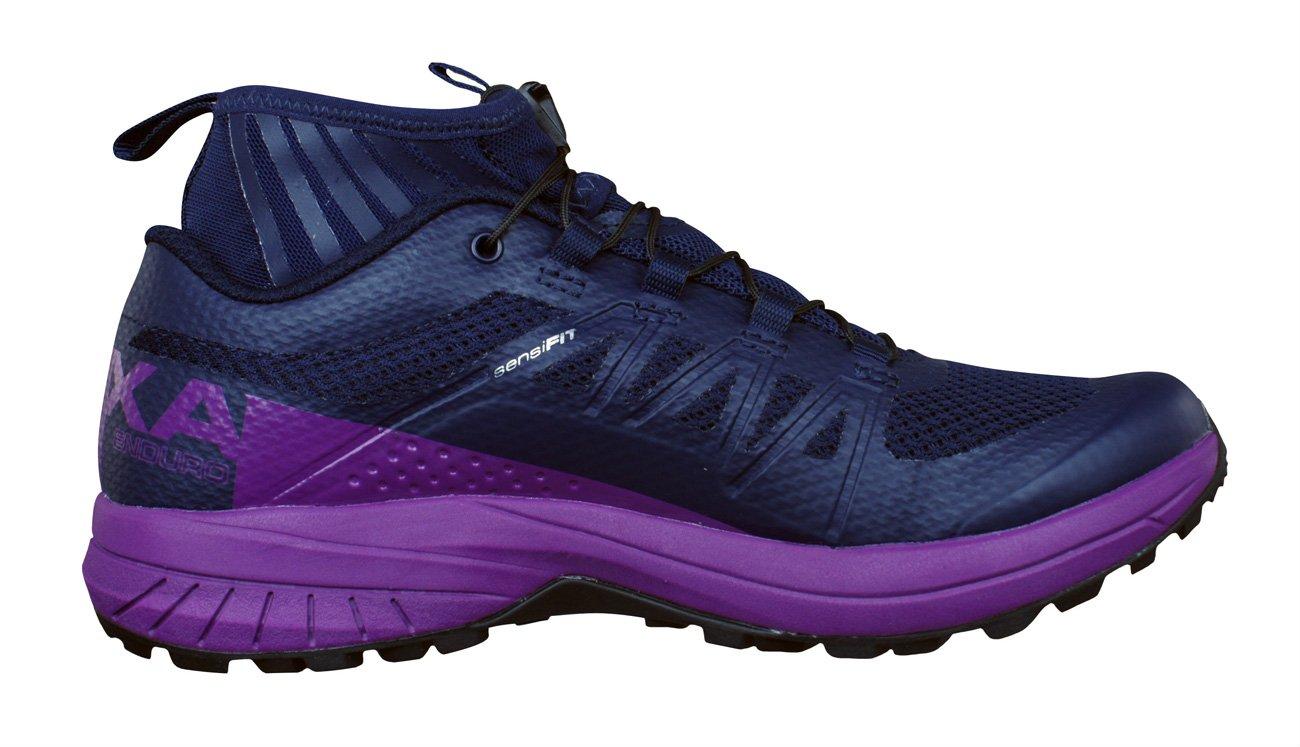 Salomon Women's XA Enduro W Trail Runner, Evening Blue/Grape Juice/Black, 9.5 M US by Salomon (Image #3)