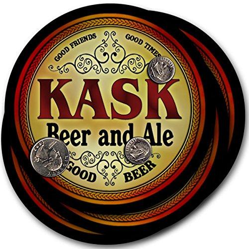 Kask Beer & Ale - 4 pack Drink Coasters