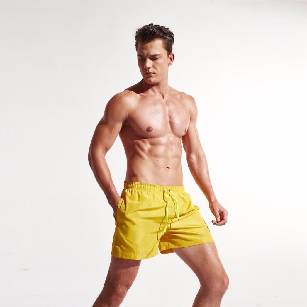Homme /à s/échage Rapide Short de Plage pour la mer int/érieur en Plein air Malloom Shorts de Sport