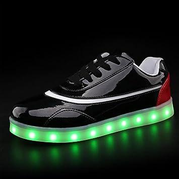 Unisex Colores 7 Parejas Led De Zapatos Amazn Hombre 1H0Fnx
