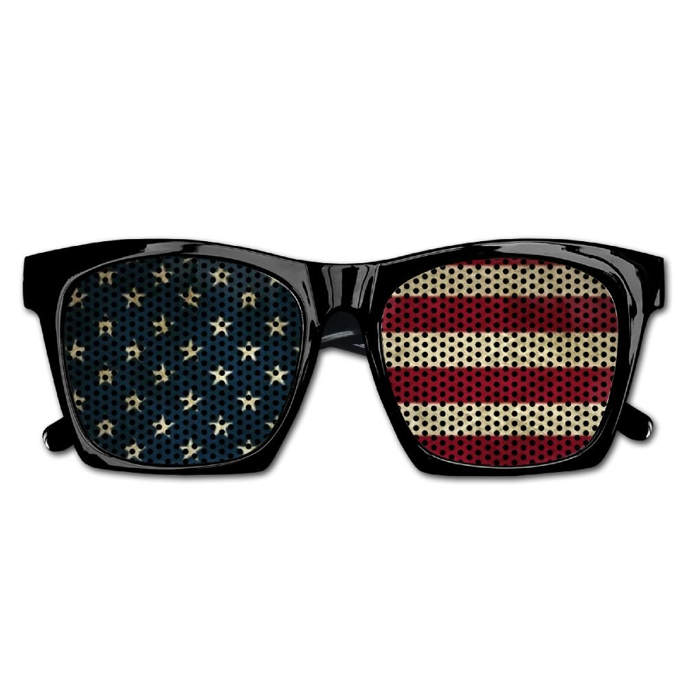 Xing Stars Colorful Summer Unisex USA American Country Flag Star And Stripe Fashion Party Costume Sunglasses