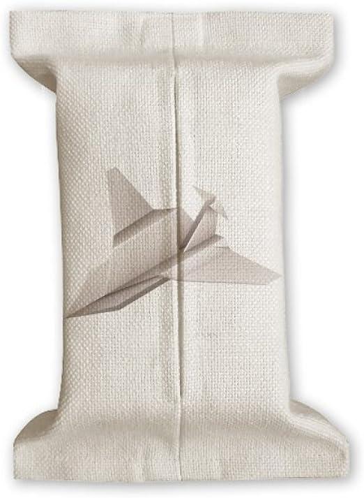 DIYthinker Origami Abstracto geométrico patrón Aviones de Papel de Tejido de algodón Cubierta de Lino del almacenaje del sostenedor del envase Regalo 17x27cm: Amazon.es: Hogar