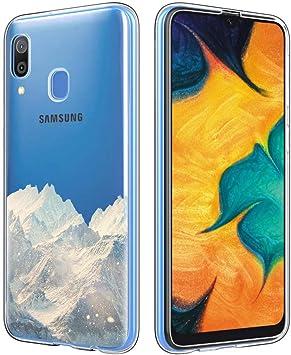 ZhuoFan Funda Samsung Galaxy A30, Cárcasa Silicona Transparente ...