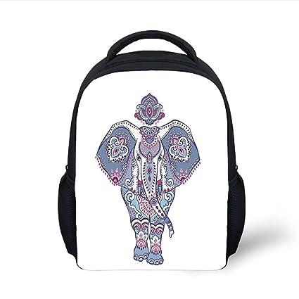 Amazon.com  iPrint Kids School Backpack Elephant Mandala acb3f988fde6b