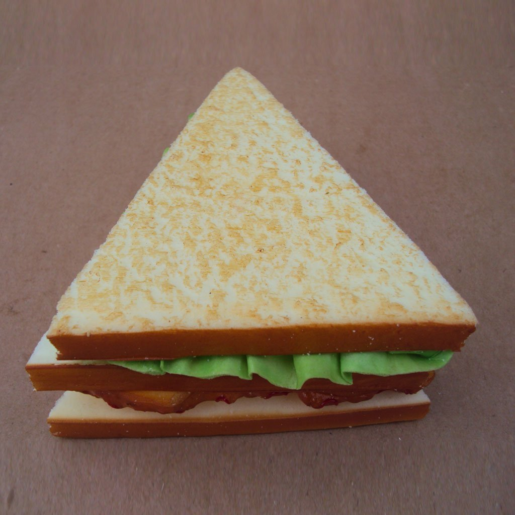 Soccik K/ünstliche Realistische Gem/üse Sandwich Speisen K/üchenspielzeug Brot Imitation K/üchen Dekor f/ür Baby Kinder P/ädagogisch Spielzeug
