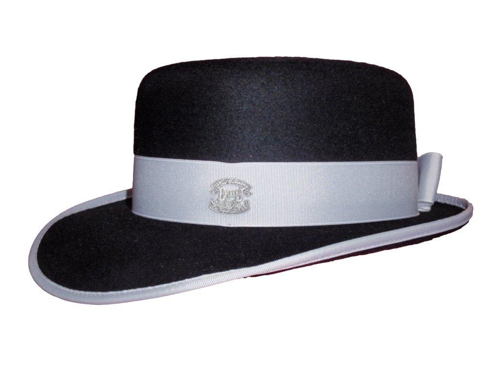 D Bar J Hat Brand, Female, BOP Town Hat, Size 7 1/8, Black