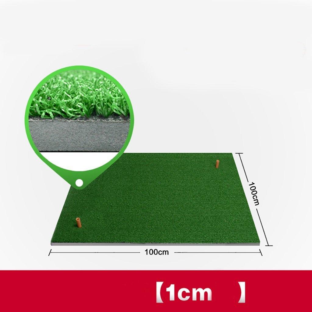 ゴルフ練習マット、自宅練習マット、オフィス練習用毛布、屋外パッティング練習 (サイズ さいず : 100 * 100cm) 100*100cm  B07G31BT2P