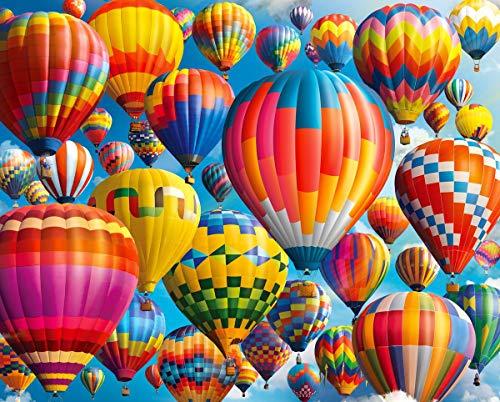Springbok Puzzles - Balloon Fest - 1000 Piece Jigsaw Puzzle - Large 30