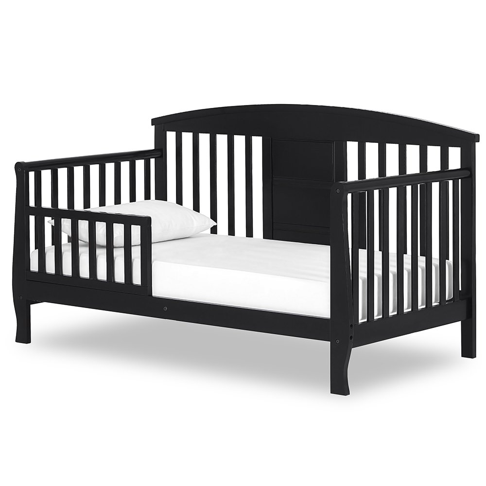 Dream On Me Dallas Toddler Day Bed, Black by Dream On Me