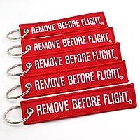 Rotary13B1 - Quitar el paquete de 5 llaveros antes del vuelo