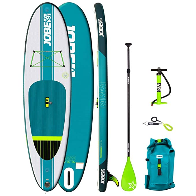 Jobe 2018 Aero Yarra Inflatable Stand Up Paddle Board 106 x 32 ...