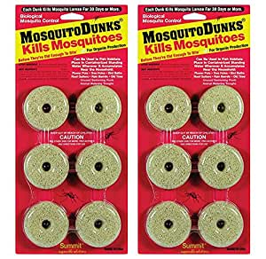 2 pack summit mosquito dunks garden outdoor for Mosquito dunks amazon
