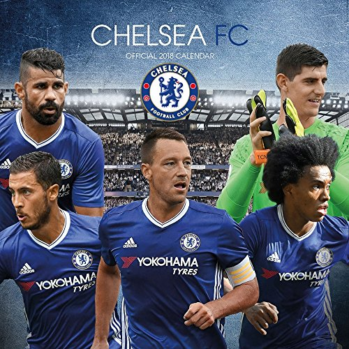 Price comparison product image 2018 Chelsea FC Soccer Wall Calendar