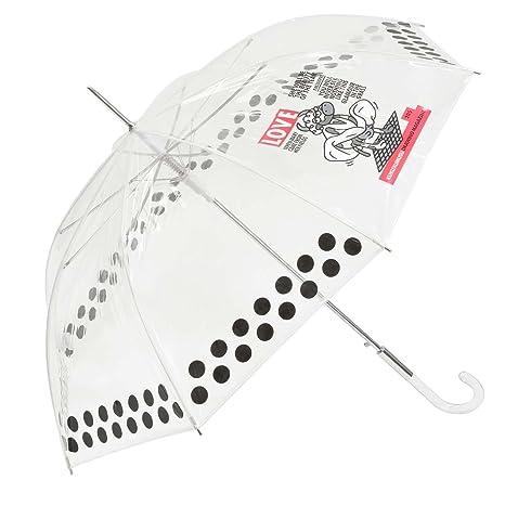 Paraguas Kukuxumusu transparente Marilyn Love