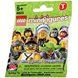 LEGO Minifigure Collection Series 3 Mystery Bag Pack 1 Random Mini Figure!