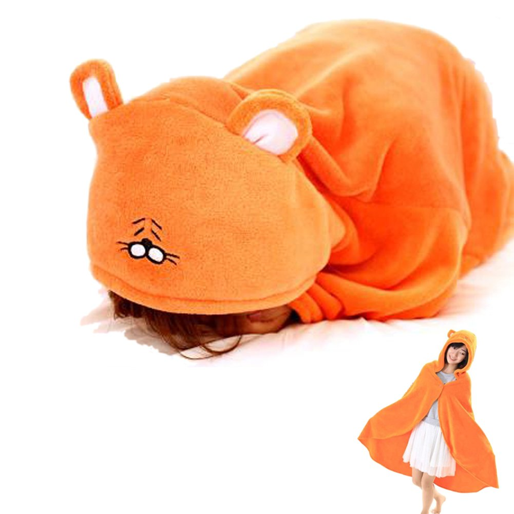 Ishowstore Himouto! Flannel Cloak Hoodies Orange Cosplay Costume (Blanket)