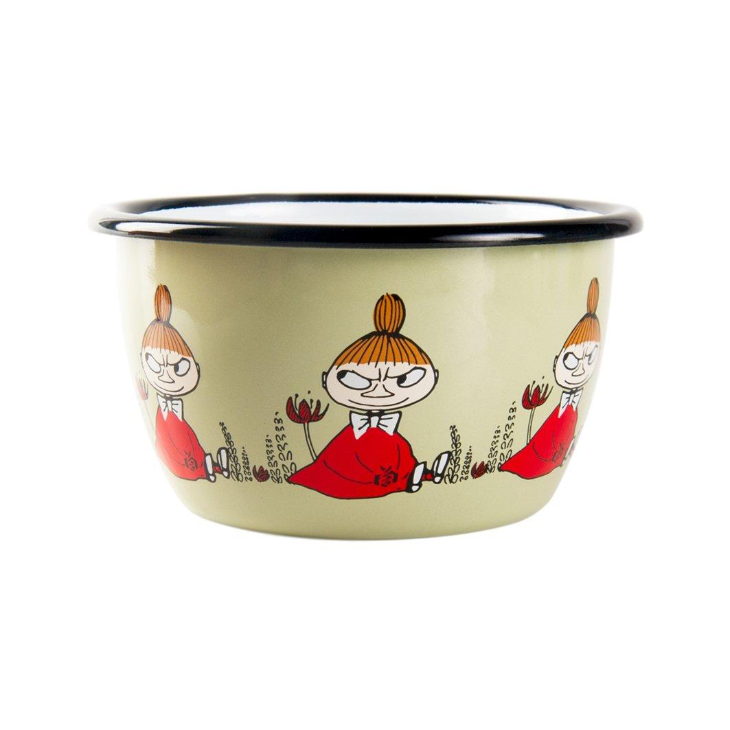 The Moomins 'Moomin Little My 300 ml ciotola smaltata Muurla