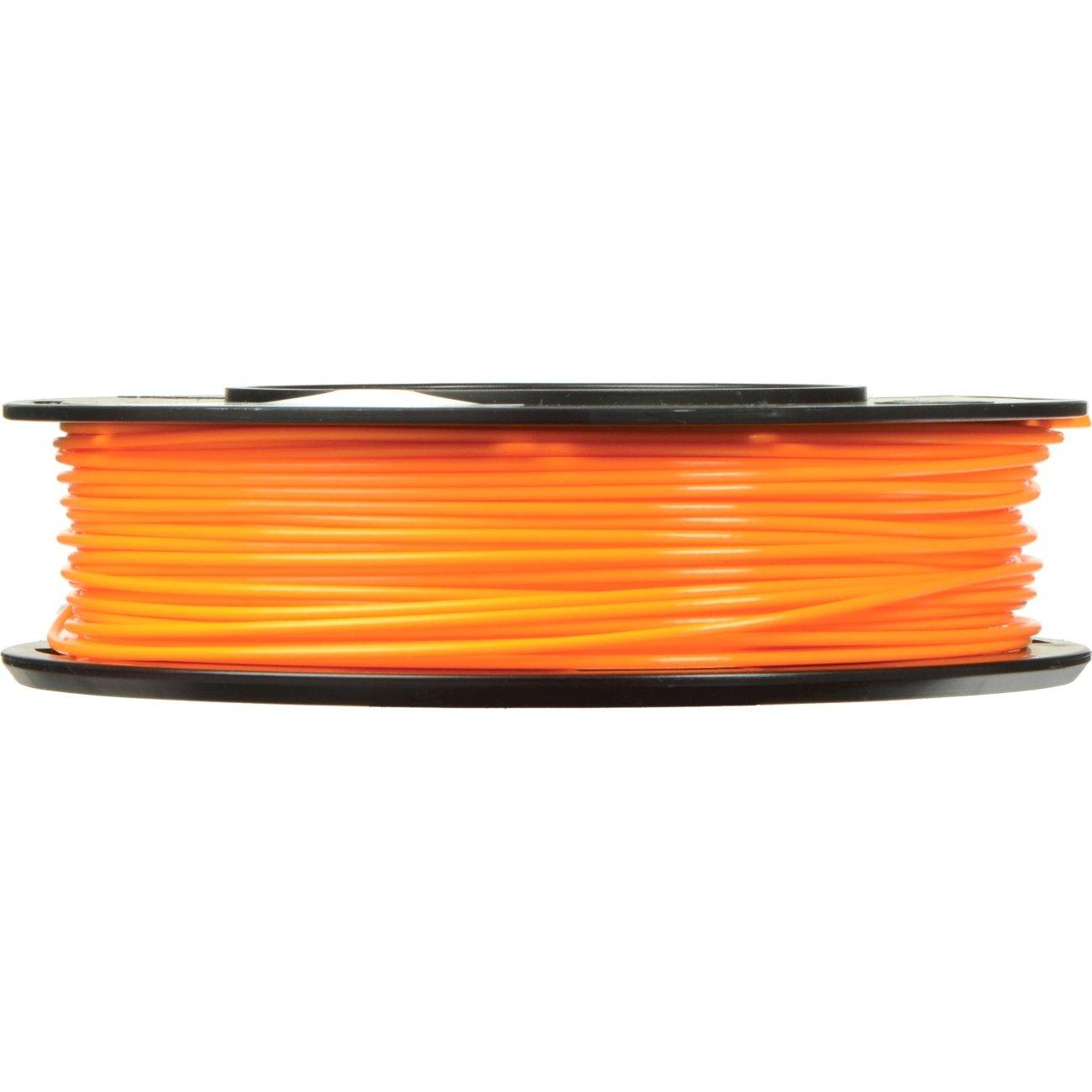 MakerBot PLA Filament, 1.75 mm Diameter, Small Spool, Neon Orange MP06051