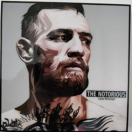 UFC CONOR McGREGOR POSTER  UFC KICKBOXING IRELAND WALL ART PICTURE PRINT LARGE