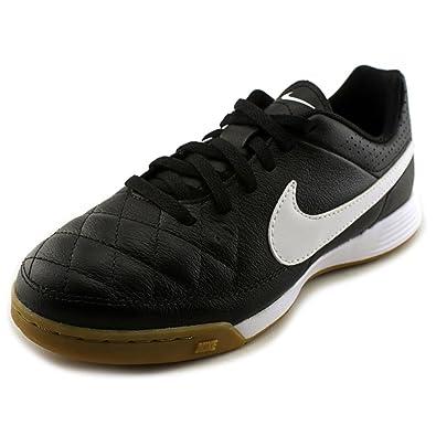 b6f7ac36875 Nike Junior Tiempo Genio Leather IC Football Boots  Amazon.co.uk ...