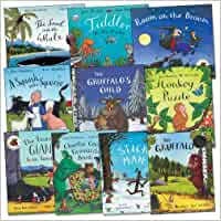 Julia Donaldson Gruffalo Collection 13 Books Set Gruffalo, Highway Rat, Stick Man, Tabby MacTat, One Mole, Hippo Has A Hat, Chocolate Mousse For Greedy Goose, Rosies Hat, One Ted, Night Monkey Day