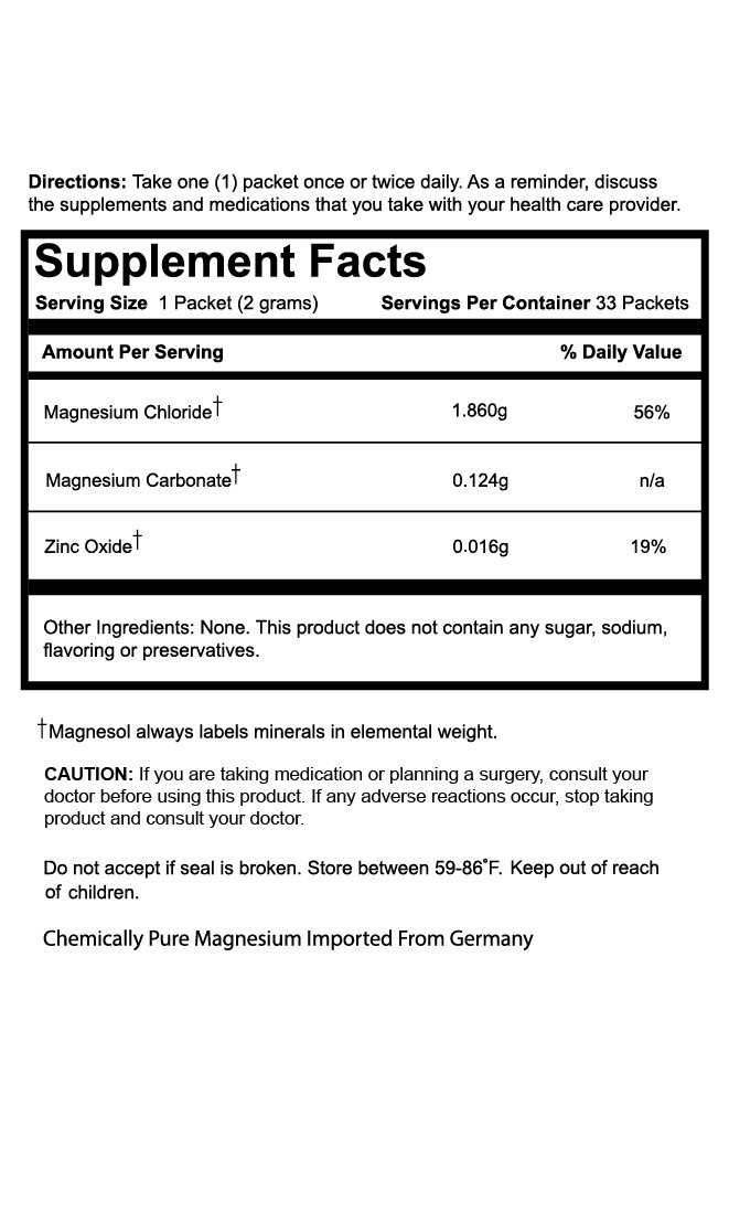 Amazon.com: Magnesol Magnesium Supplement - 100% Pure: Health & Personal Care