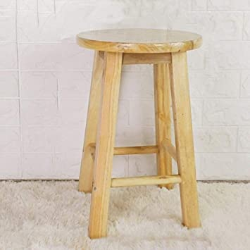Groovy Amazon Com Lldmz Solid Wood Stool High Stool Step Stool Ocoug Best Dining Table And Chair Ideas Images Ocougorg