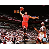 "Derrick Rose Chicago Bulls NBA Action Photo (Size: 8"" x 10"")"