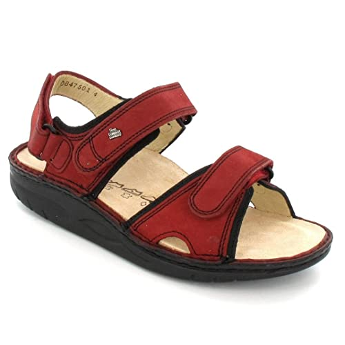 edcb17159ff06 Finn Comfort Women s 1561-901614 Fashion Sandals Red red  Amazon.co.uk   Shoes   Bags