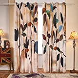 Fassbel 2 Panel Set Digital Printed Window Curtains for Bedroom Living Room Dining Room Kids Room (W54× L84 Leaves) Review