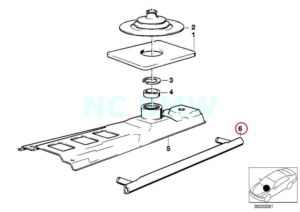BMW Genuine Straight Selector Rod